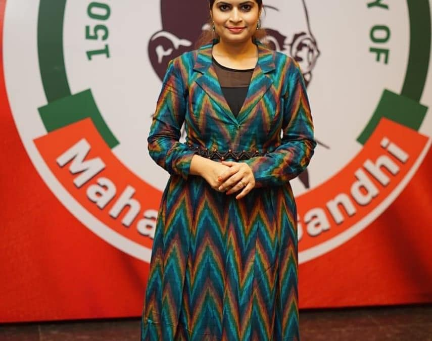 CELEBRATING 150TH BIRTH ANNIVERSARY OF MAHATMA GANDHI AT THE MAGAM TELANGANA VASTRA SHOW