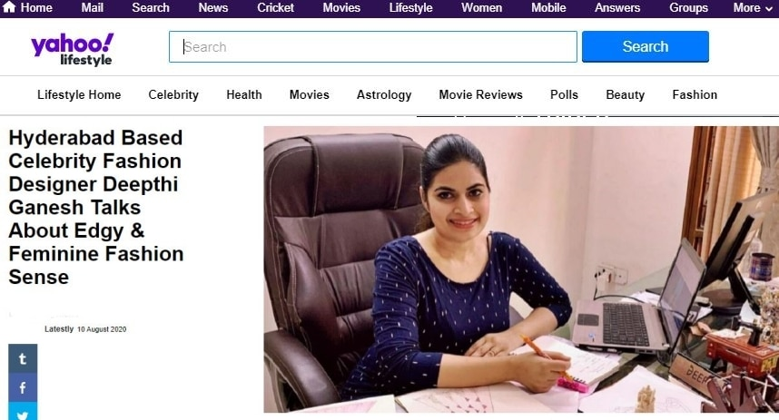 Yahoo News About Deepthi Ganesh