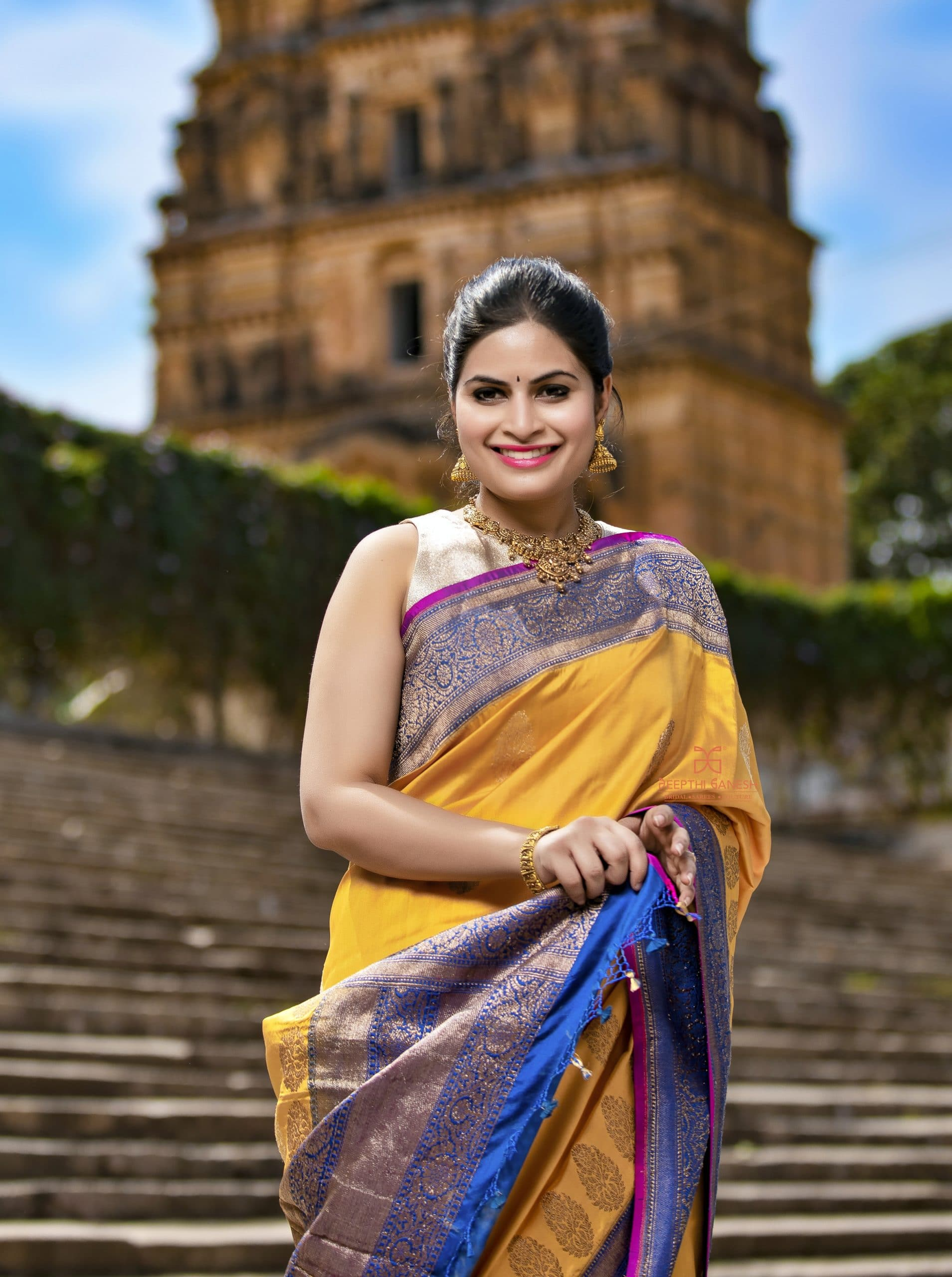 Exclusive hand picked sarees with love