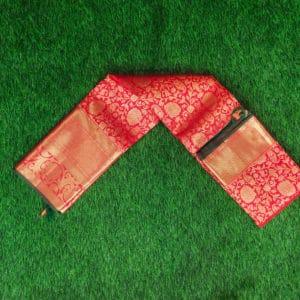 Kanchivaram Color -Self Red