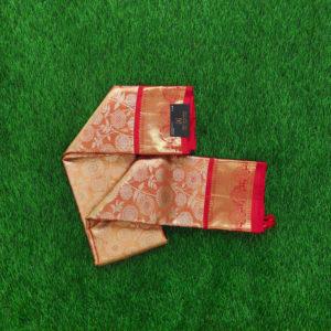 Kanchivaram Tissue Color - Red