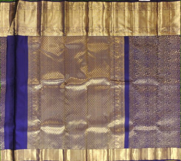 Kanchivaram Color - Navy Blue